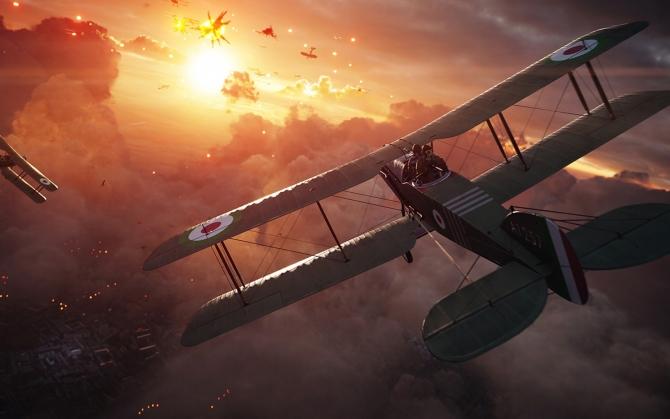 Battlefield 1 воздушный бой