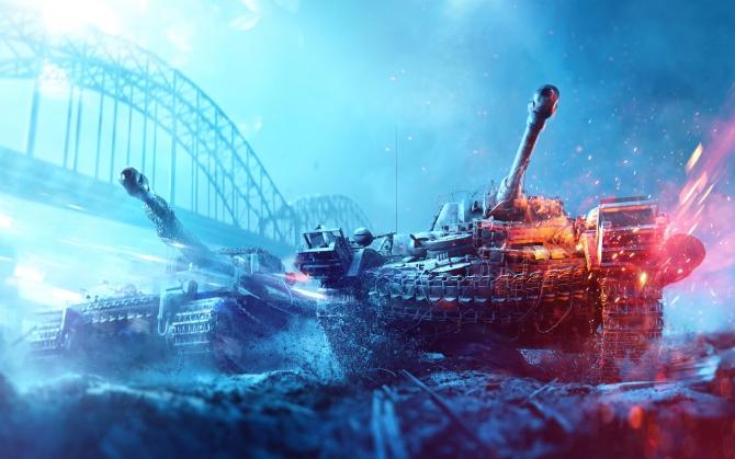 Battlefield 5 танки