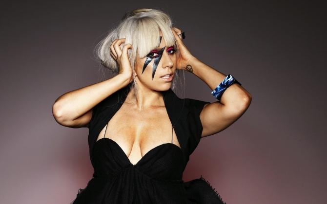 Леди Гага Платье