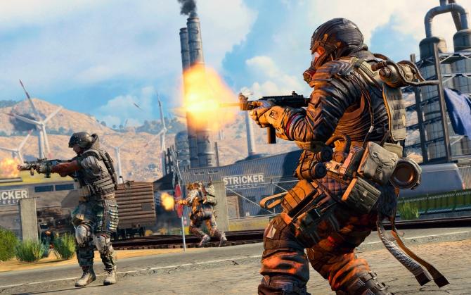 Call of Duty: Black Ops 4 бой
