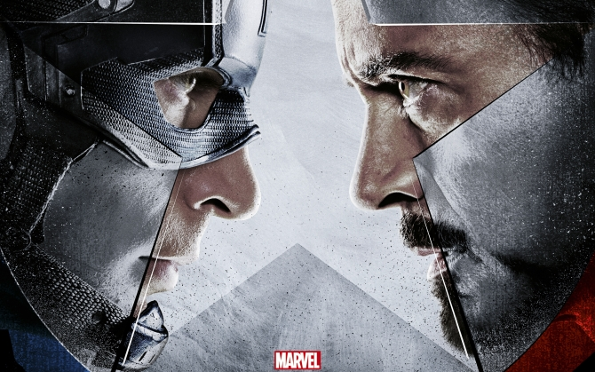 Капитан Америка против Железного Человека