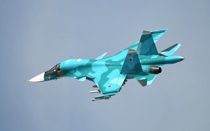 Су-34 в небе