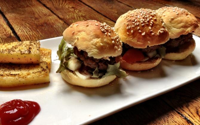Домашние гамбургеры