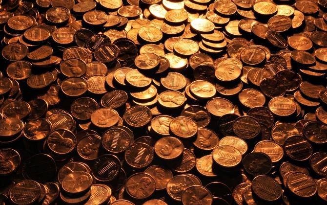 Куча монет