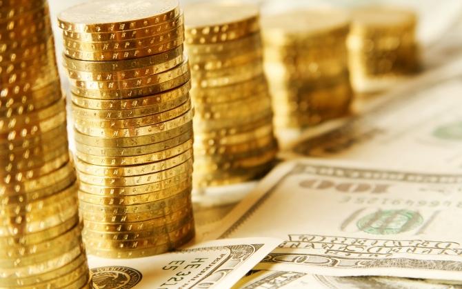 Монеты на банкнотах