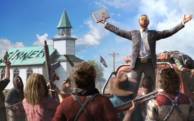 Far Cry 5 пророк Иосиф Сид