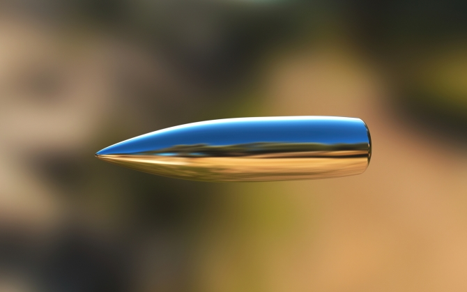 Летящая пуля