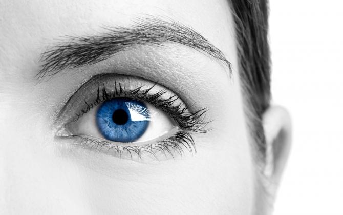 Картинки синие глаза девушки - 165