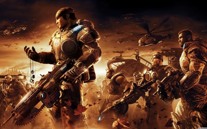 Gears of War 3 персонажи