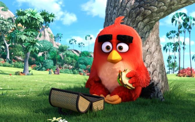 Angry Birds в кино Рэд