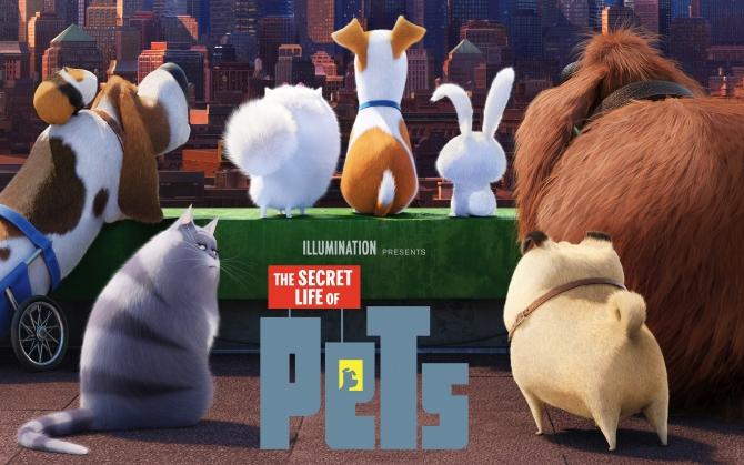 Тайная жизнь домашних животных 2016