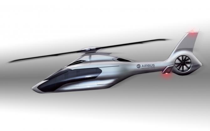 Концепт вертолета Airbus