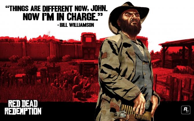 Билл Вильямсон Red Dead Redemption