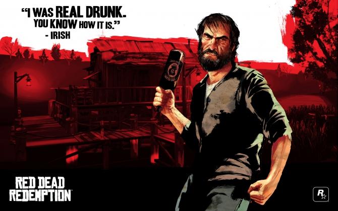 Ирландец Red Dead Redemption