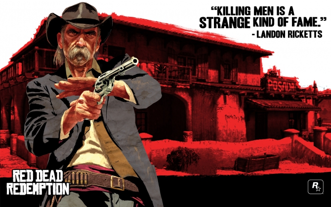 Лэндон Рикеттс Red Dead Redemption