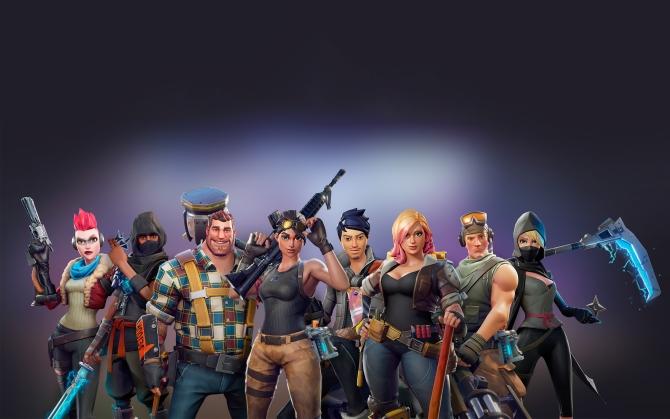Fortnite игроки