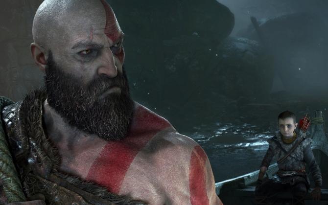God of War 4 Кратос и его сын