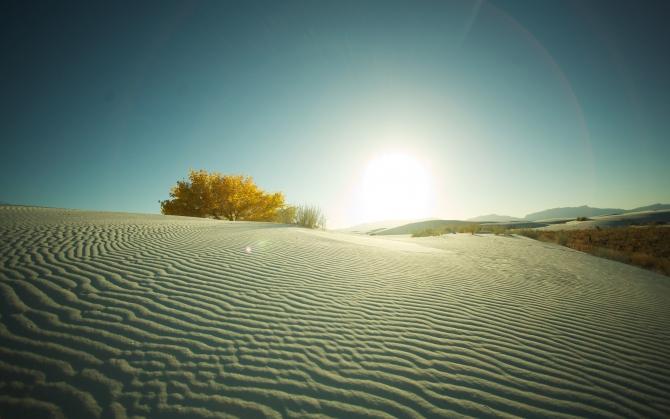 Закат в пустыне