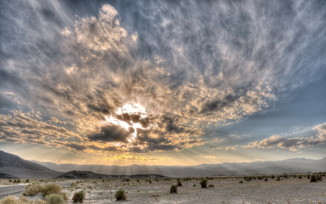 Небо в пустыне