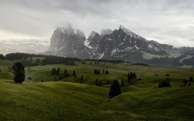 Горы и холмы
