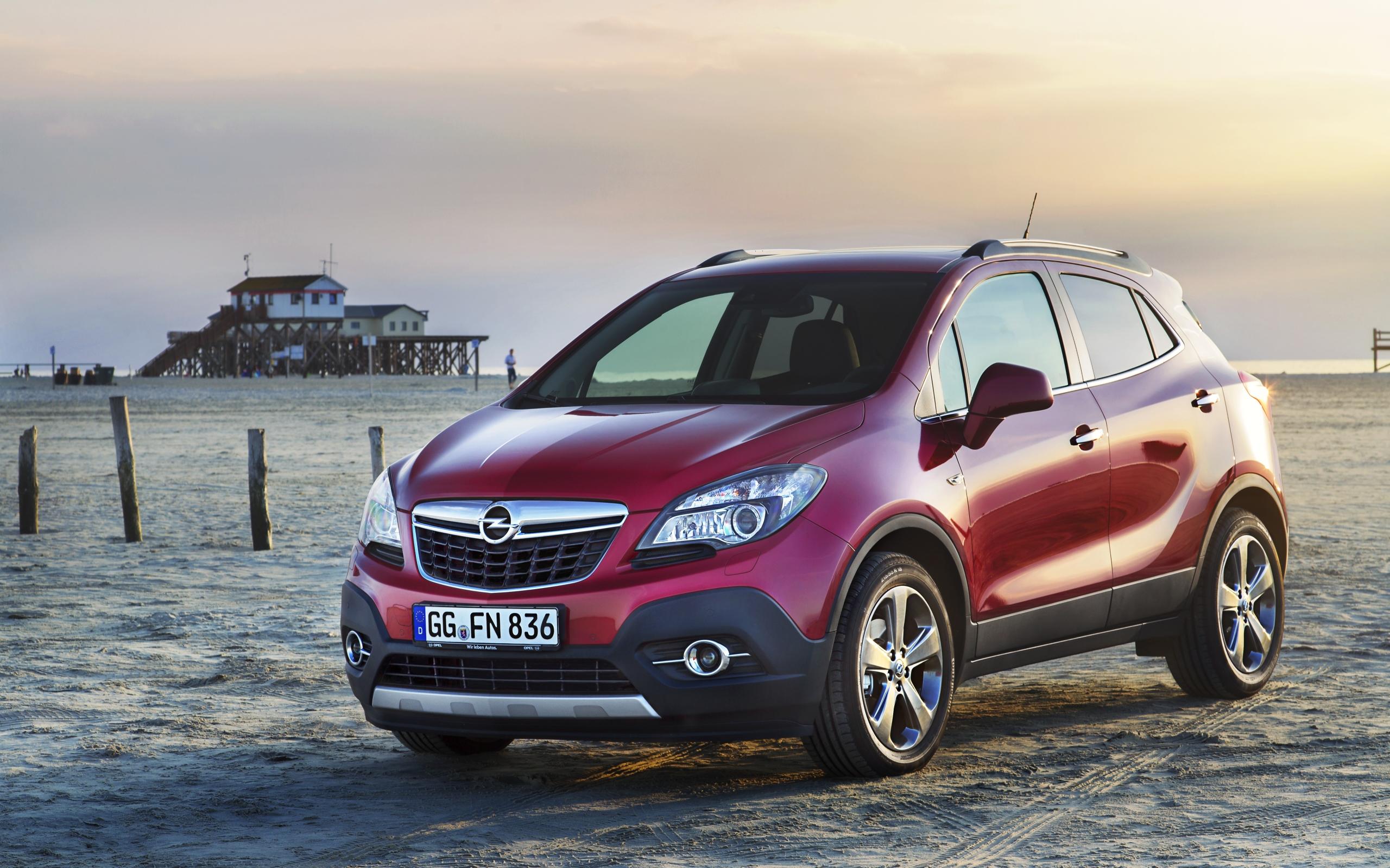 Opel mokka на пляже