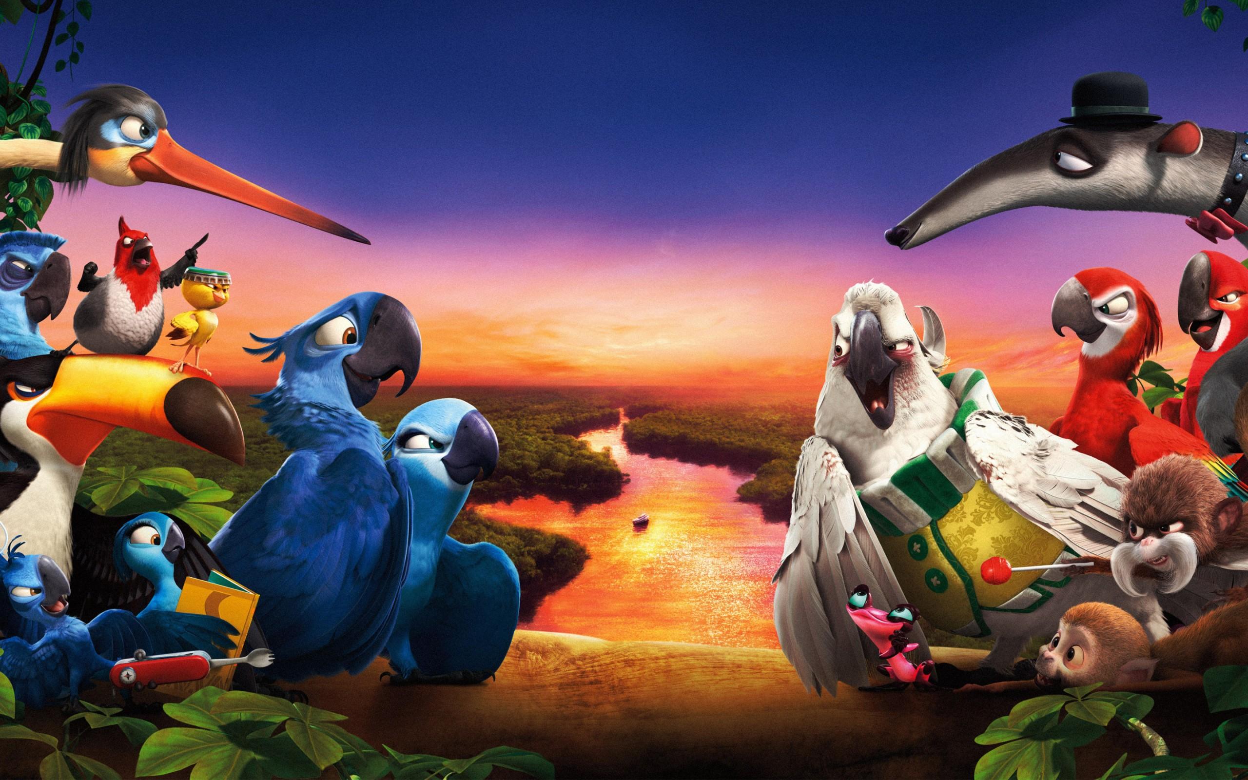 картинки рио из мультфильма