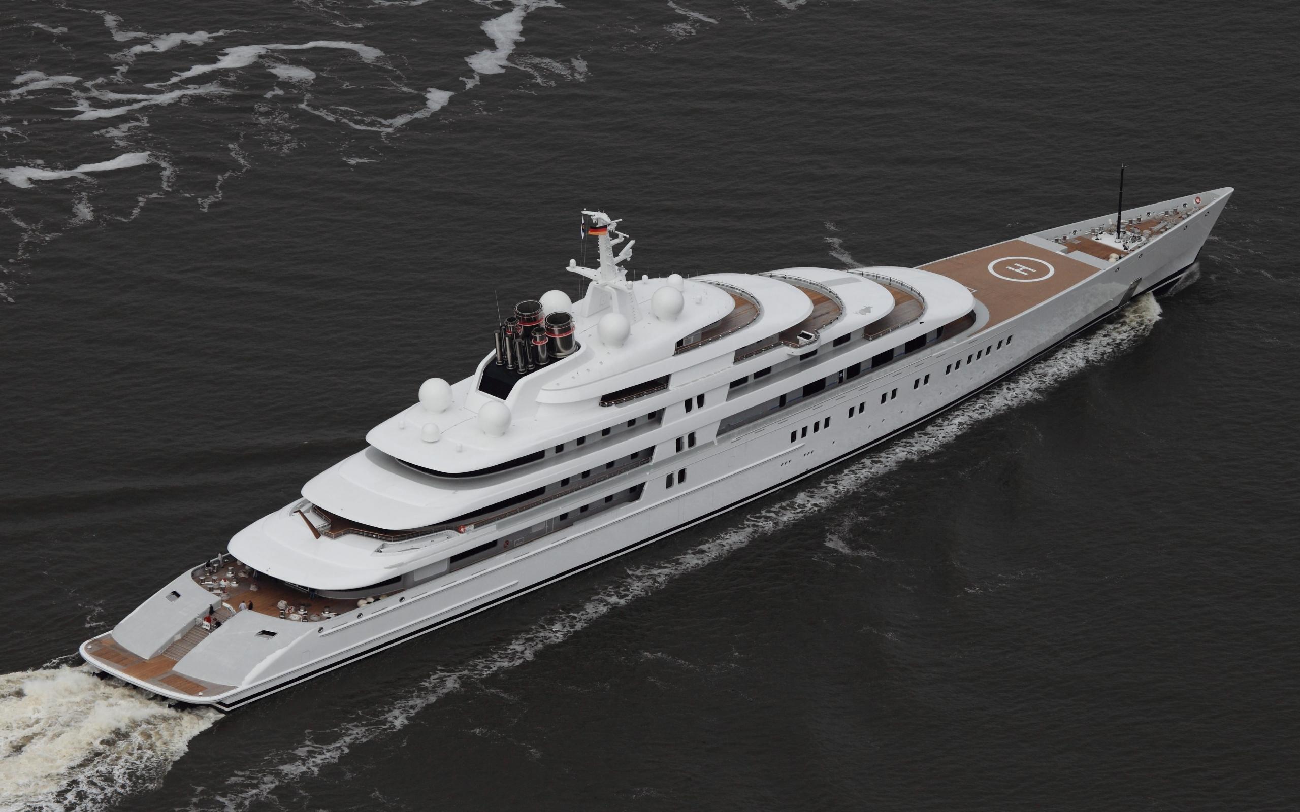 Azzam - самая большая яхта в мире обои для рабочего стола ...