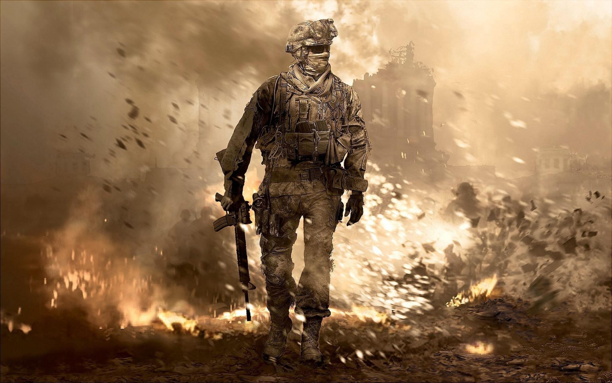 Call of Duty обои для рабочего стола ...: www.rabstol.net/oboi/call_of_duty/2464-call-of-duty.html