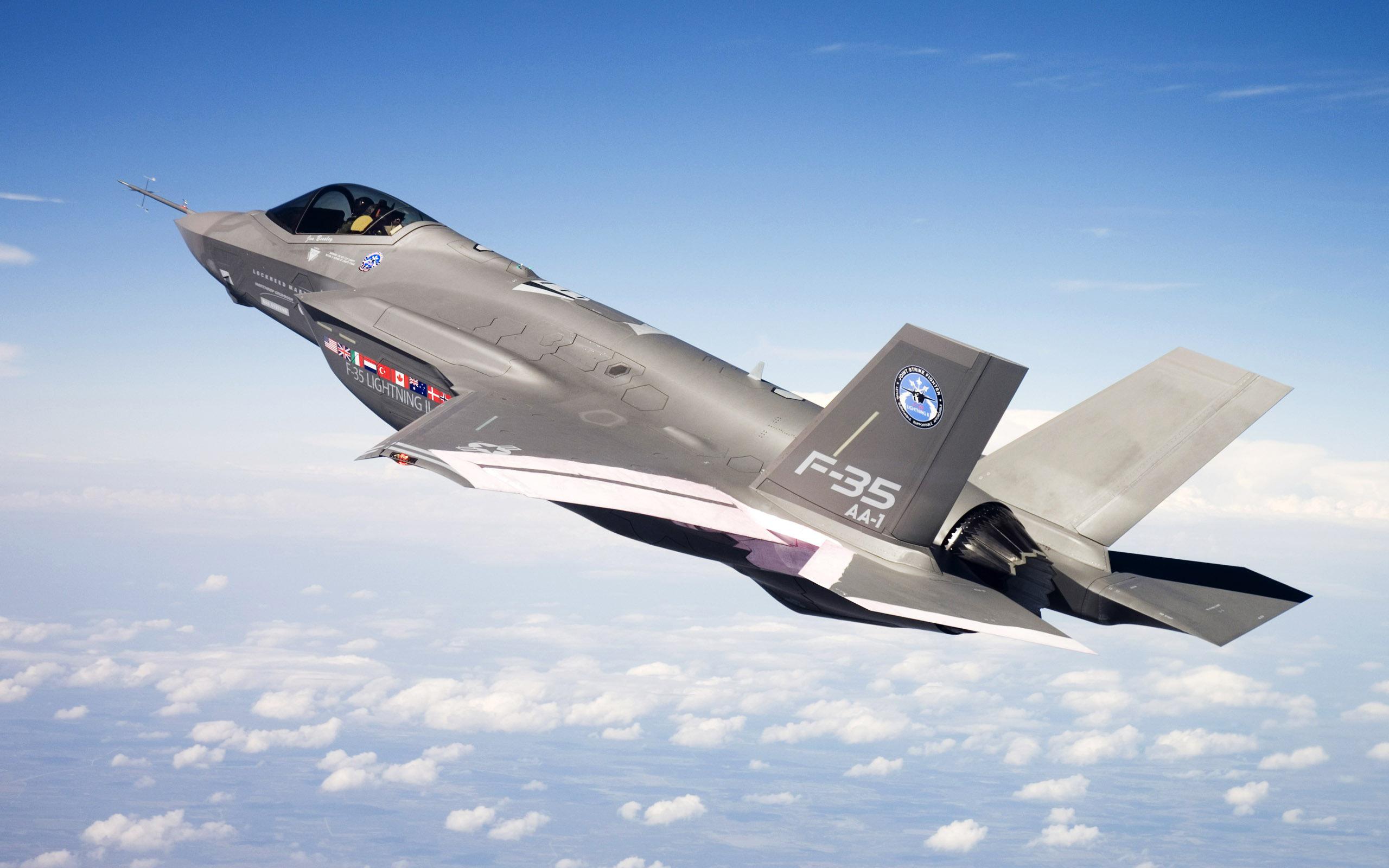 Военный самолет f 35