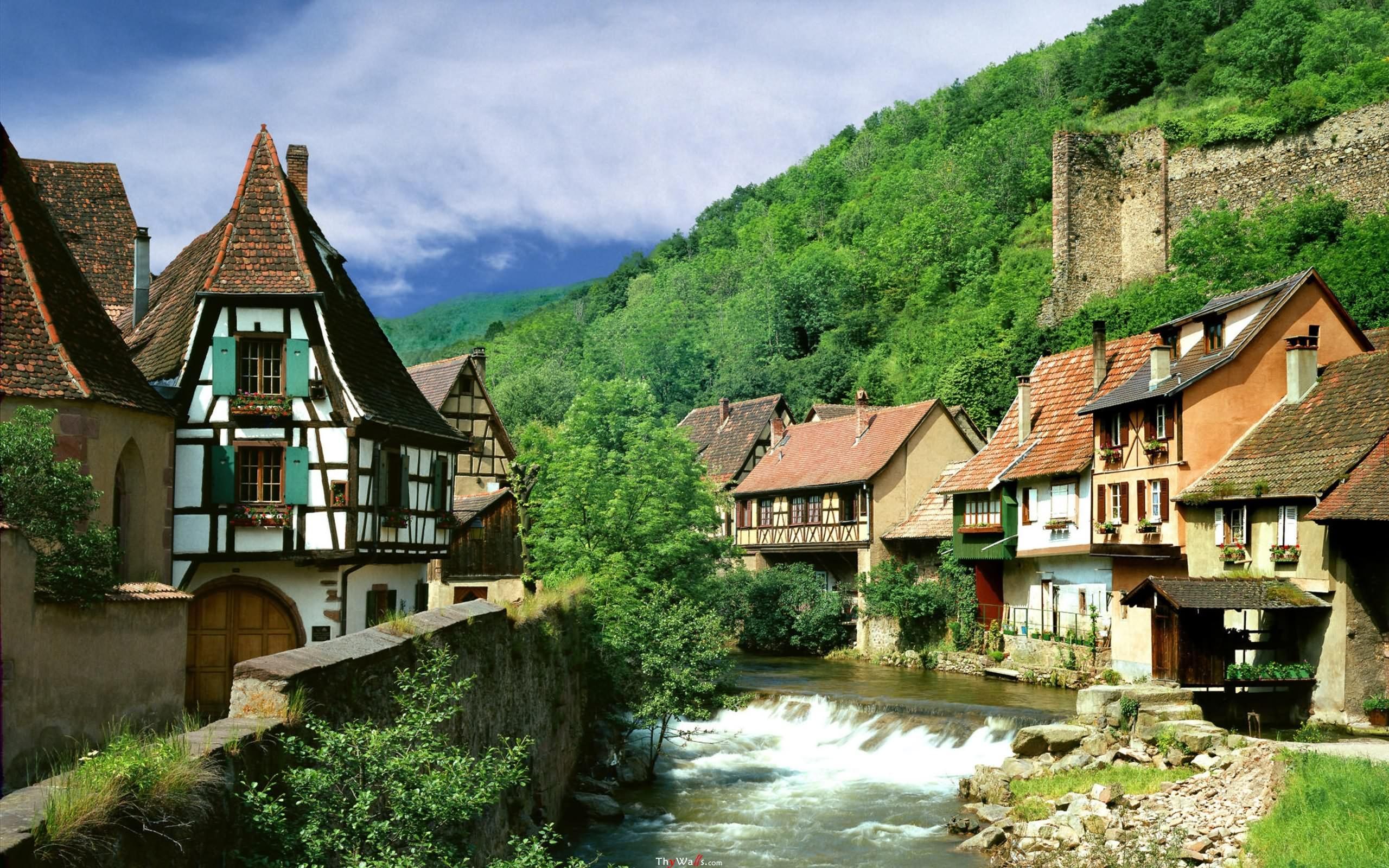 عکس طبیعت فرانسه