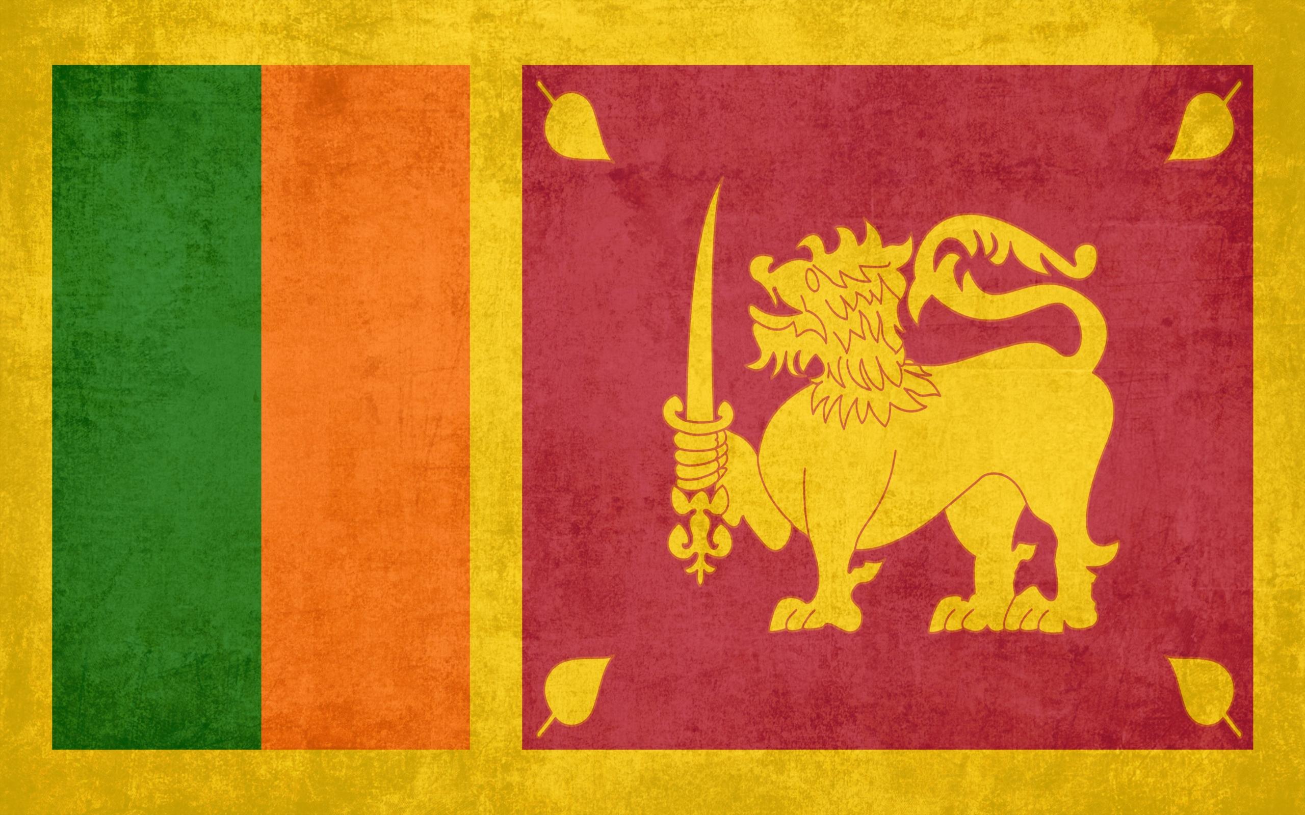 шри ланка фото флаг
