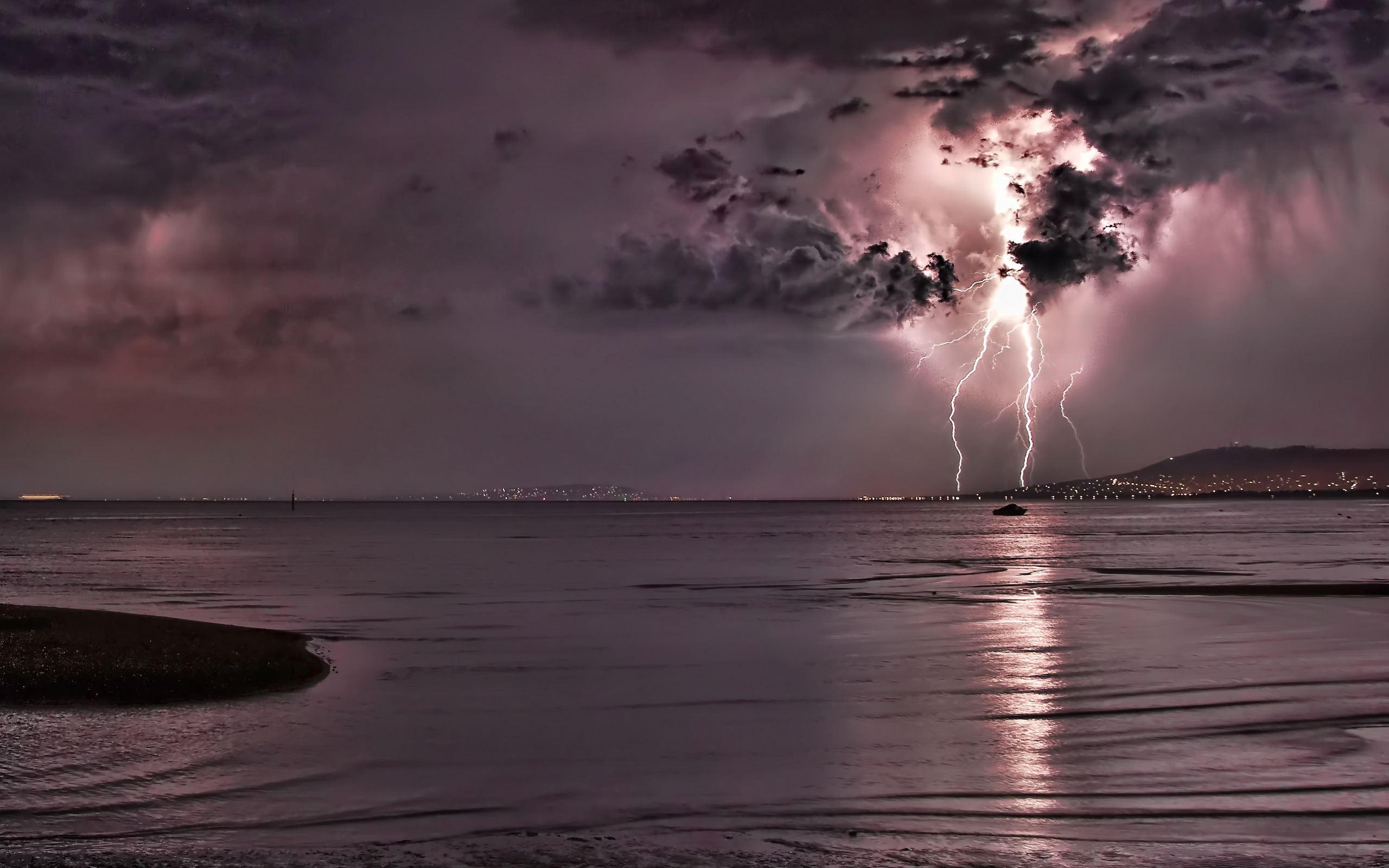 Фото моря в шторм