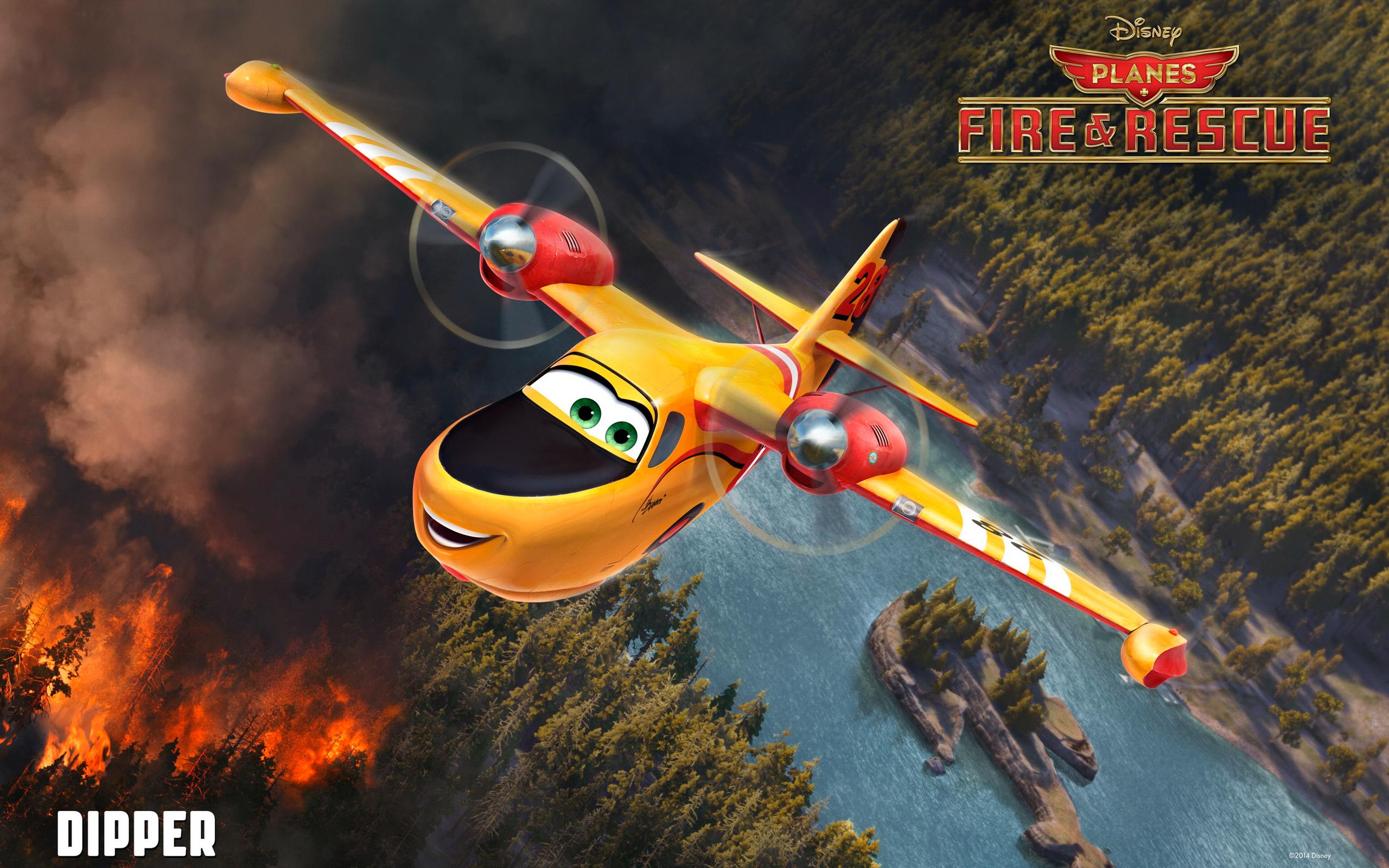 картинки самолеты огонь и вода