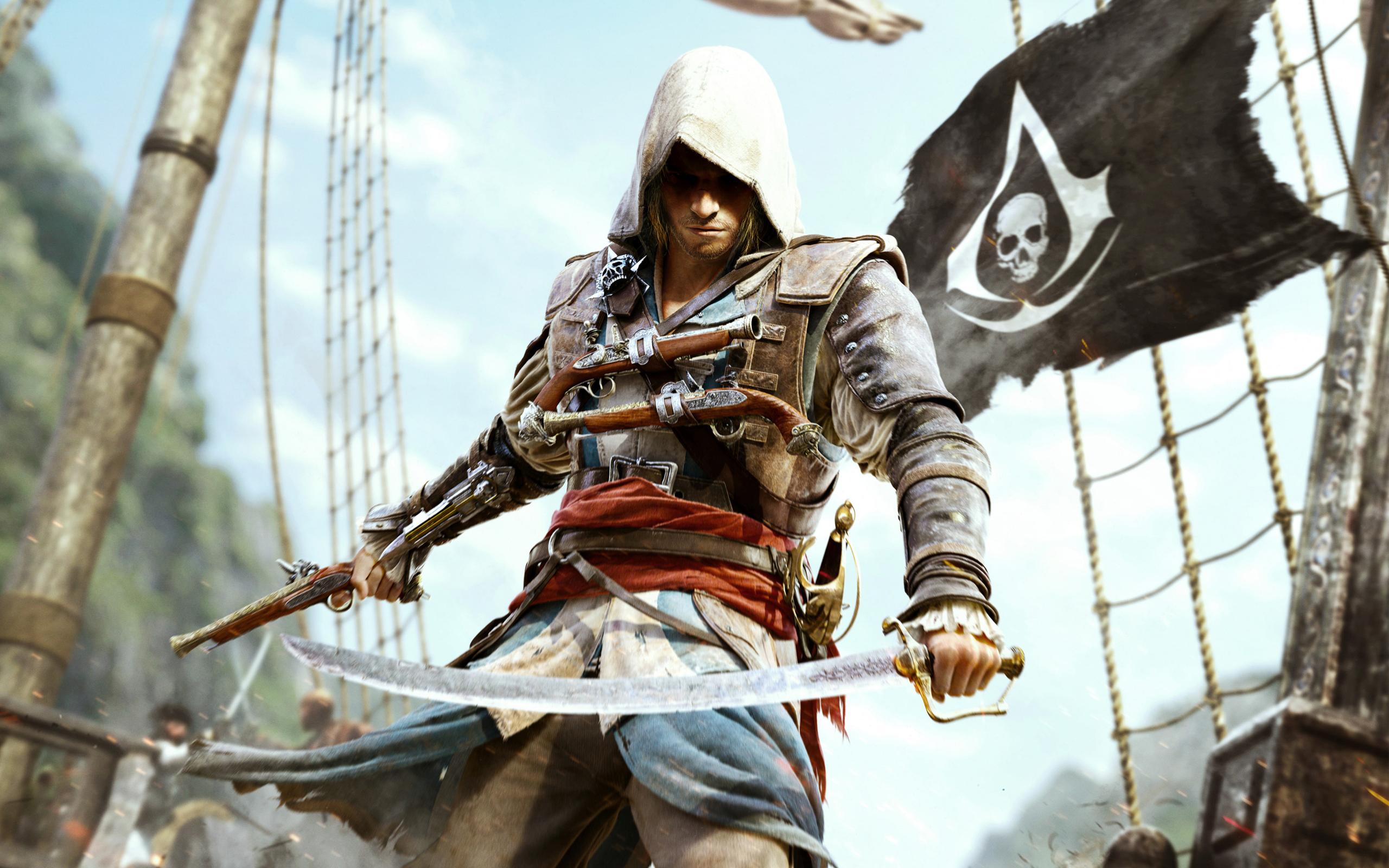 Эдвард Кенуэй в Assassin's Creed обои для рабочего стола, картинки...
