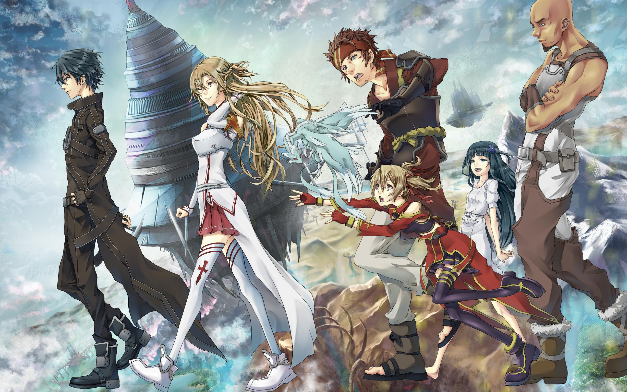 картинки аниме мастера меча онлайн: