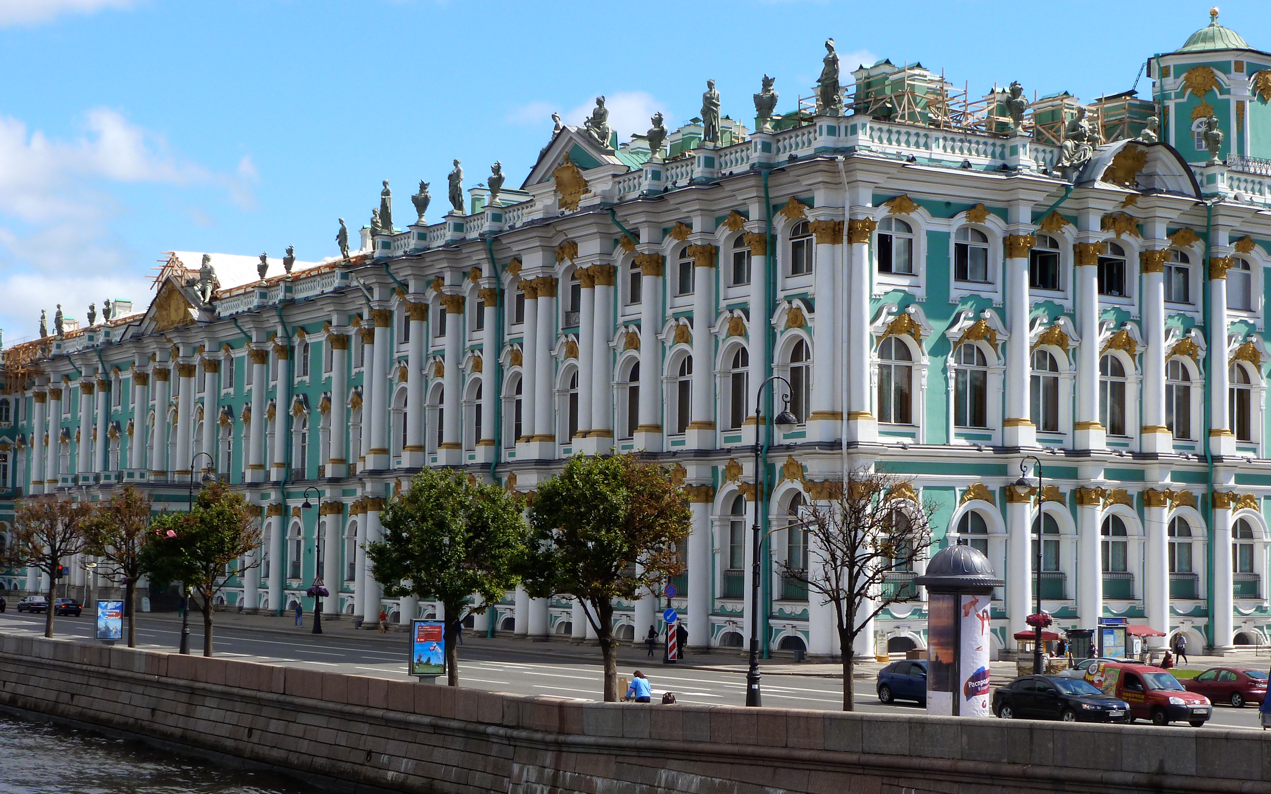 Эрмитаж в Санкт-Петербурге обои для ...: www.rabstol.net/oboi/russia/9455-ermitazh-v-sankt-peterburge.html