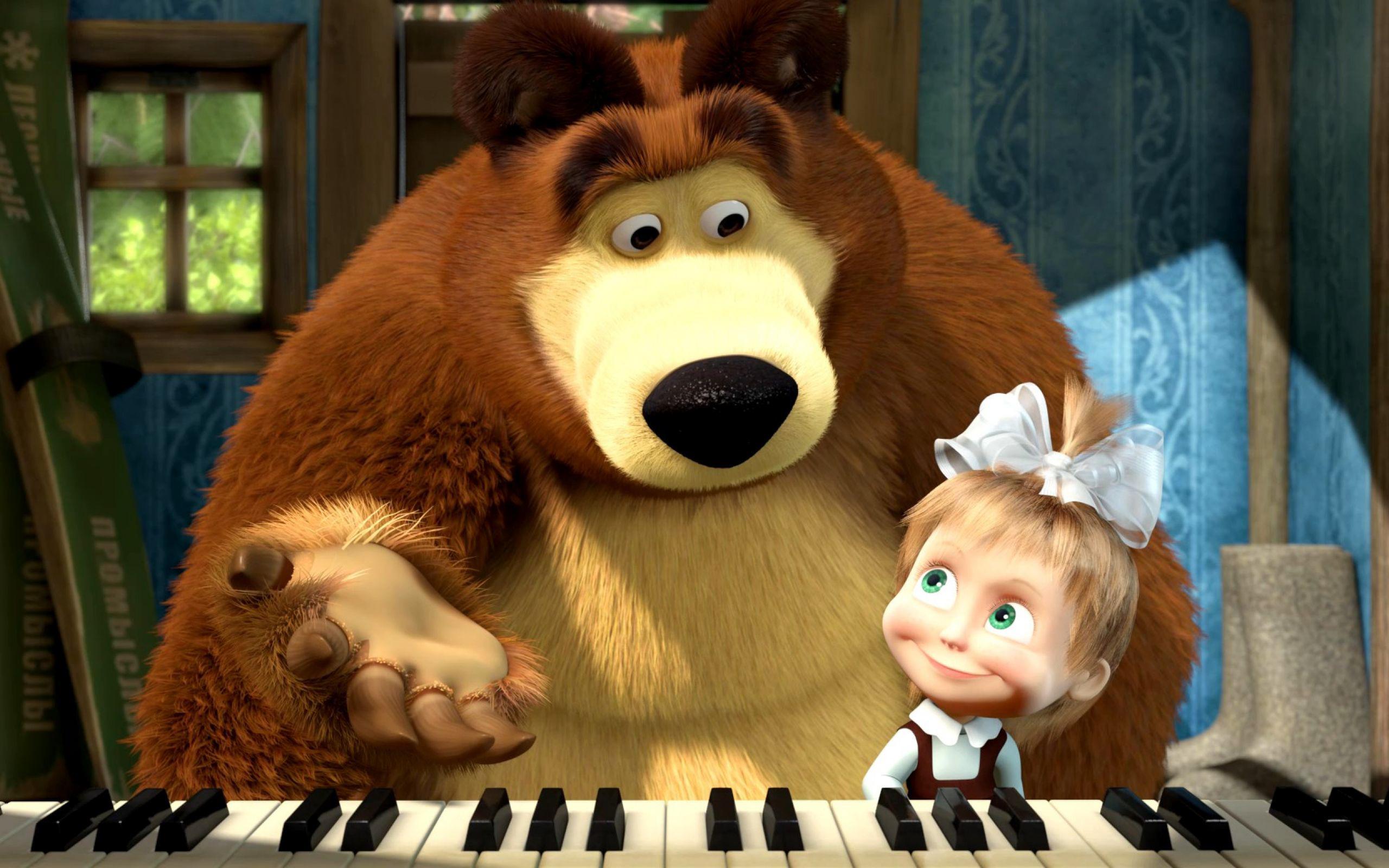картинки высокого качества маша и медведь