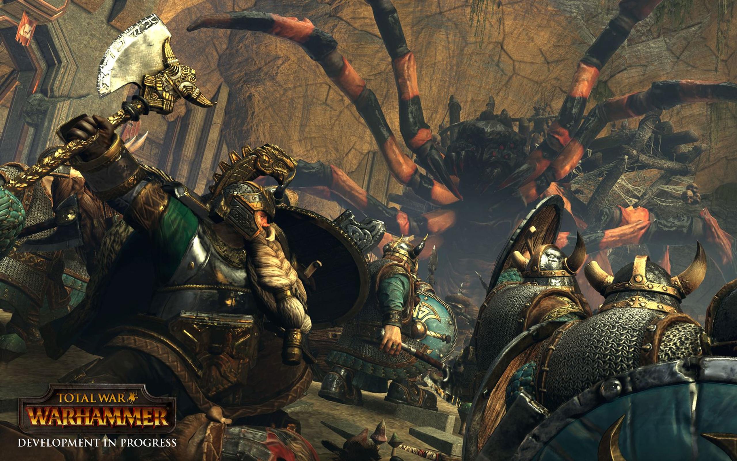 Обои Total War Warhammer total war warhammer, видео игры ...