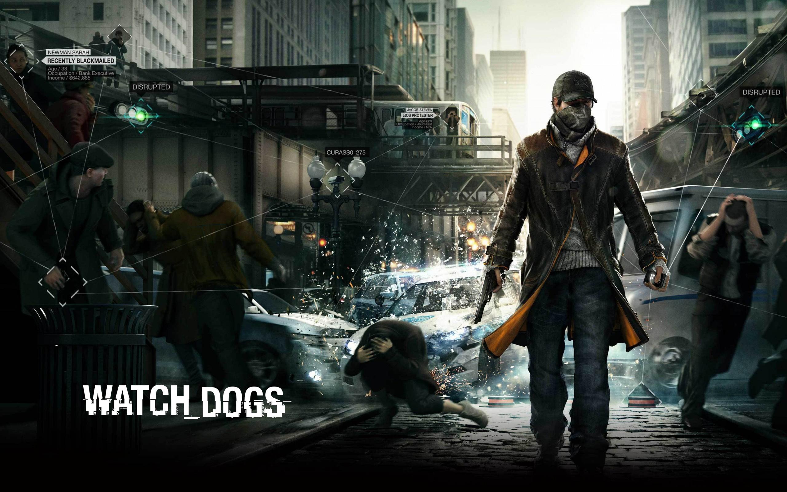 Watch Dogs обои для рабочего стола, картинки и фото - RabStol.net