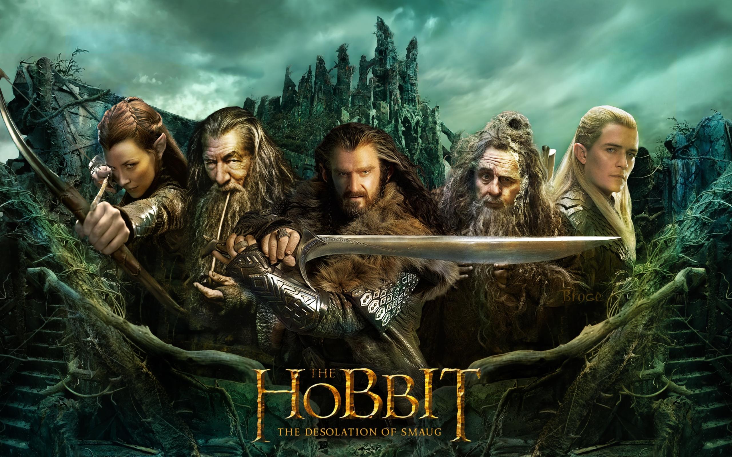 Картинка хоббит: пустошь смауга драконы золото фильмы.