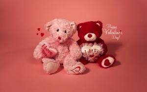 Мягкие игрушки на день святого Валентина