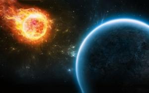 Огненный метеорит