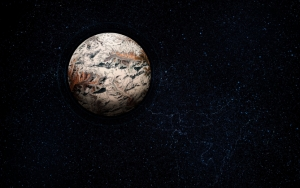 Гористая планета