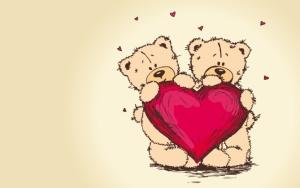 Мишки с сердечком
