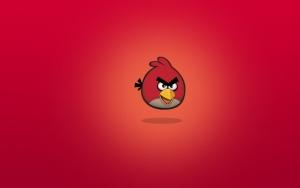 Angry Birds красная птица