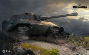 World of Tanks танк E100