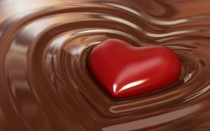 Сердечко в шоколаде