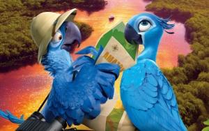 Голубчик и Жемчужинка из Рио 2