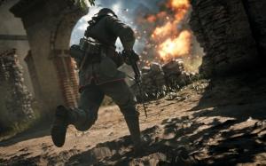 Бой в Battlefield 1