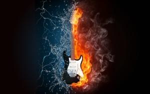 Гитара вода и огонь